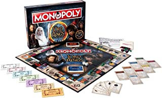 Winning Moves Games Lord of The Rings Monopoly Board Game