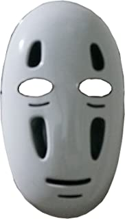 Spirited Away No-Face FACELESS Ghibli Mask Cosplay Anime Costume