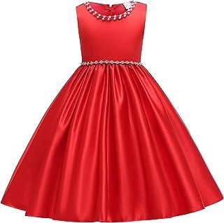IBTOM CASTLE Flower Girl Princess Communion Formal Dress Rhinestone Pageant Wedding Birthday Party Dance Evening Gown