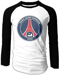 Men's Paris Saint Germain FC Logo O-Neck Raglan T-shirt