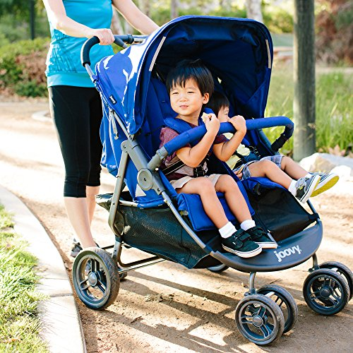 Image of Joovy Scooter X2 Double Stroller, Blueberry