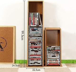 HYL Cajoneras Mueble Archivador Estante de almacenamiento de CD CD de almacenamiento en rack Acabado PS4 disco del juego d...
