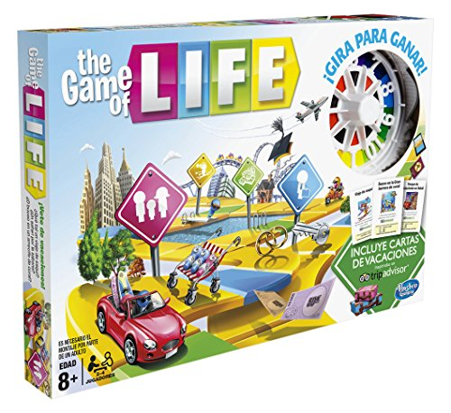 Hasbro Gaming- Hasbro Game of Life, Multicolor (C0161105)