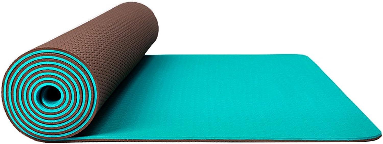 DQMSB Yogamatte Rutschfest aufgeweitet 80cm verdickt Lange Anfnger Yoga Fitness Matte Mnner und Frauen dreiteilig Yogamatte