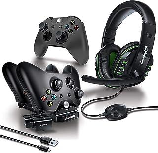 dreamGEAR Dgxb1-6631 Kit De Acessórios Gamer Advanced Com 8 Peças Para Xbox One, Preto - Android, 2