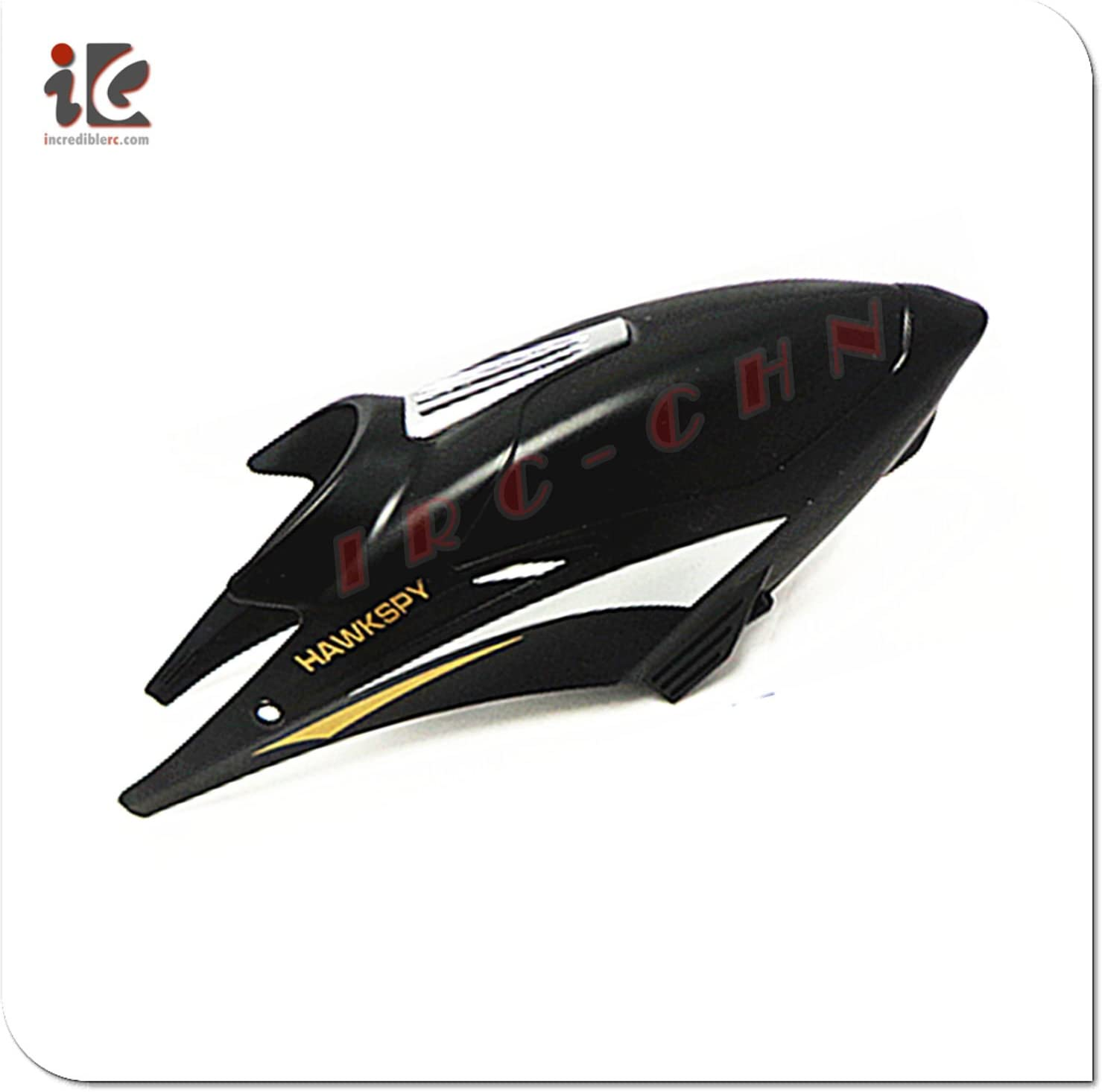 shipfree 1X BLACK HEAD COVER CANOPY EGOFLY P HAWKSPY security RC HELICOPTER LT-711