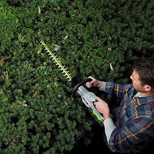 EGO Power+ HT2411 24-Inch Brushless 56-Volt Cordless Hedge Trimmer 2.5Ah Battery and Charger Included