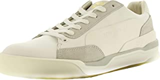 Alexander McQueen Move Lo Lace Up Round Toe Leather Sneakers