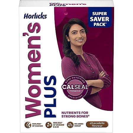 Horlicks Women's Plus Chocolate Carton, 400 g