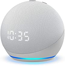 All-new Echo Dot (4th Gen) | Smart speaker with clock and...