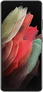 Samsung SM-G998BZKAATS Galaxy S21 Ultra Smartphone 128GB, Phantom Black (Australian Version with 2 year Manufacturer Warra...