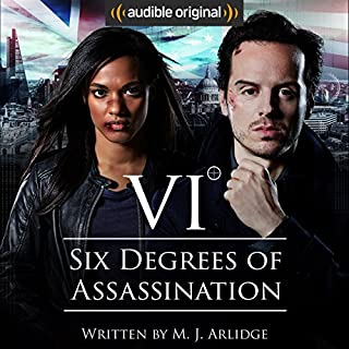 Six Degrees of Assassination: An Audible Drama audiobook cover art