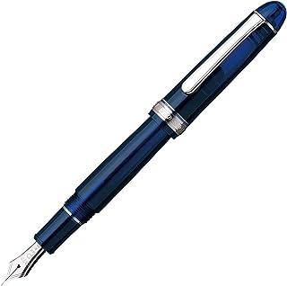 プラチナ万年筆 万年筆 #3776センチュリー ロジウムフィッシュ シャルトルブルー 細字 PNB-15000CR#51-2