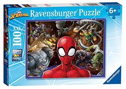 Ravensburger Marvel Spider-man Xxl 100pc Jigsaw Puzzle [10728]