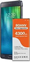 Galaxy Note 4 Battery,[Upgraded] 4300mAh Replacement Battery for Samsung Galaxy Note 4..