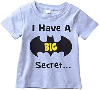 Gajaous Infant Girl Big Sister Shirts Tops Toddler Girls Going to Be A Big Sister T-Shirt Cotton Blouse