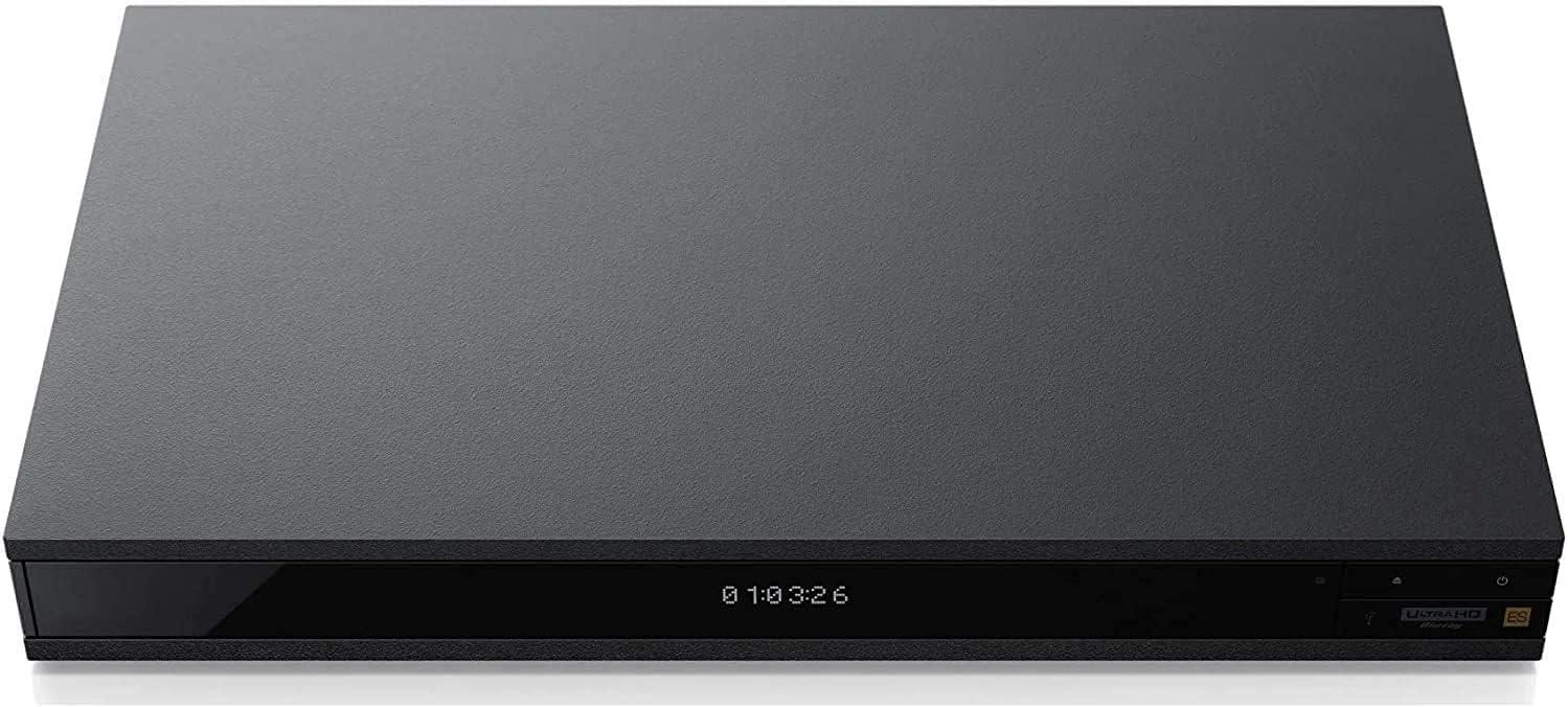 X1100ES 4K Region Zone Code Free Blu Ray Player with Orei Travel Plug Adapter for Europe - Worldwide Use - 4K UHD - WiFi - PAL/NTSC (X1100ES-DB9)