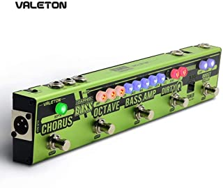 Valeton Dapper Bass Guitar Multi Effects Pedal (VES-2)