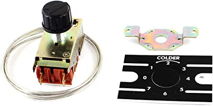 220v Tama/ño libre sensor ajustable de calor fr/ío electr/ónico con sonda inteligente compacta interruptor regulador de termostato digital multiuso pantalla LCD autom/ática Controlador de temperatura