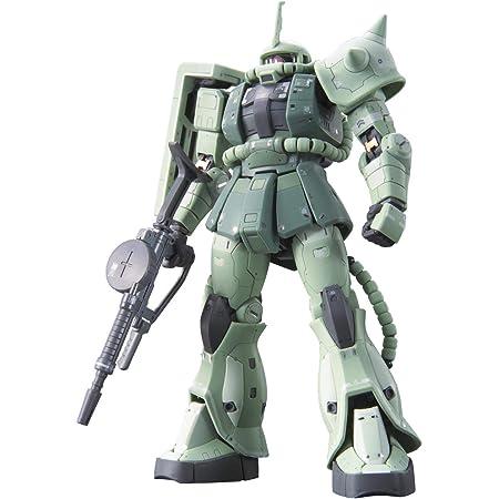 RG 機動戦士ガンダム MS-06F 量産型ザク 1/144スケール 色分け済みプラモデル