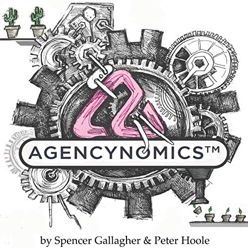 Agencynomics audiobook cover art