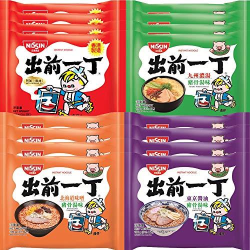 WaNaHong Nissin Demae Ramen Assorted Flavor (16 Packs)