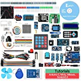 Keywish RFID Starter Kit for Arduino UNO R3, with Bluetooth Module, 34 Lesson, Solder-Free, Support Scratch Mblock Graphical Programming