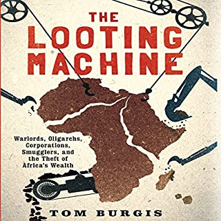The Looting Machine audiobook cover art