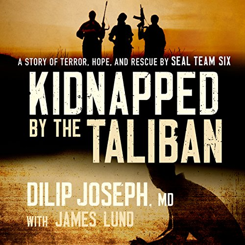 Kidnapped by the Taliban audiobook cover art
