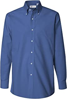 Long Sleeve Button Down Pinpoint Shirt