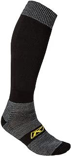 Klim Klim Adult Dirt Bike Motorcycle Socks - Black/Medium