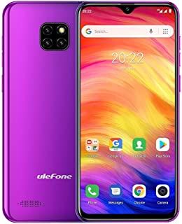 QUZH Cell Phones Smartphone Note 7, 1GB+16GB, Triple Back Cameras, Face ID Identification, 6.1 inch Android 8.1 GO MTK6580A Quad-core 32-bit up to 1.3GHz, Network: 3G, Dual SIM(Black)