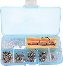 Juego de herramientas SHiZAK. 700 tornillos pequeños para reparar gafas o gafas de sol, con almohadillas de silicona para la nariz, pinzas y micro destornillador