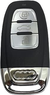 Horande Key Fob Case Shell fits for Audi A3 A4 A4L A5 A6 A6L Q5 Q7 Smart Remote Control Key Fob Shell Cover