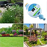 Water Timer, Electronic 360° Rotating Automatic Watering Sprinkler Irrigation System Controllers for Gardening Flowers Lawn Care