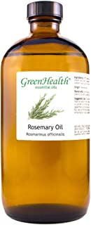 GreenHealth Rosemary – 100% Pure Essential Oil 16 fl oz (473 ml) Glass Bottle