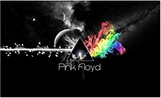 NEOPlex Pink Floyd Moon and Rocket Traditional Flag