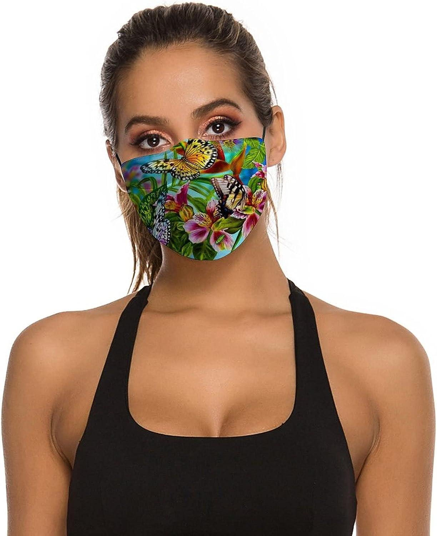 Face Masks Washable Reusable - Adjustable, Face Mask with Filter Pocket,Bandana for Women and Men