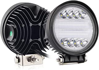 CO LIGHT LED Work Light Bars 2PCS 4.6inch 30W Round LED Light Pods Fog Light Truck Light Driving Light for SUV ATV Boat Tractor Off-road 4x4 Truck 3 Years Warranty colight-930A-2pcs