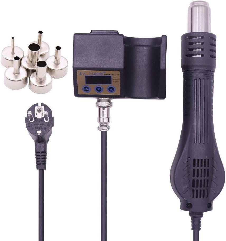 Limited time cheap sale Soldering Hot Air Gun 700W D Digital Station 858D+ ESD Quality inspection