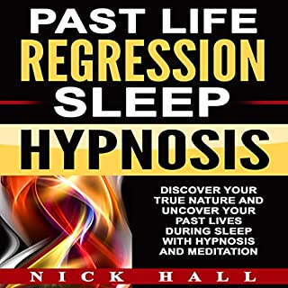 Past Life Regression Sleep Hypnosis audiobook cover art
