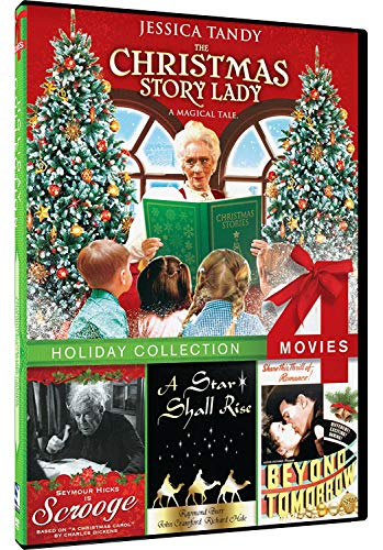 Christmas Story Lady/Beyond Tomorrow/Scrooge/Star Shall Rise - 4-pack