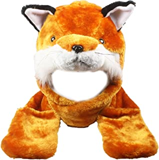 fox hat with paws