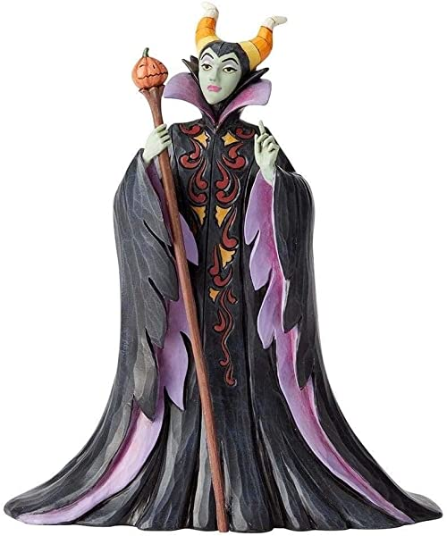 Disney Tradition By Jim Jore Maleficient Halloween Figurine Resin Multi Colour One Size