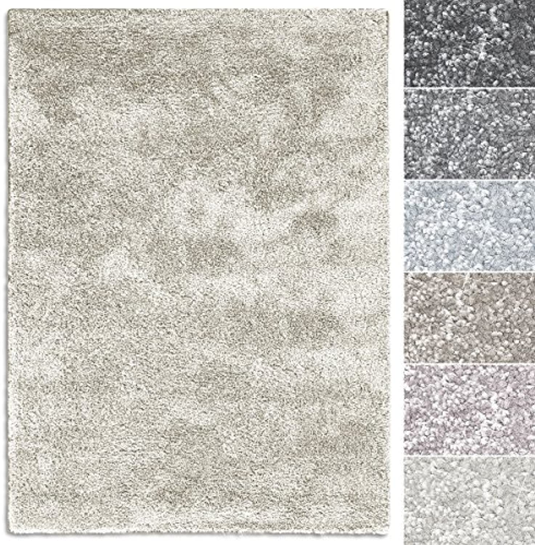Casa pura Teppich Sundae  viele Gren  pflegeleicht kuschlig weich  Flurteppich, Wohnzimmerteppich, Küchenteppich, Schlafzimmerteppich (Creme - 200x300 cm)