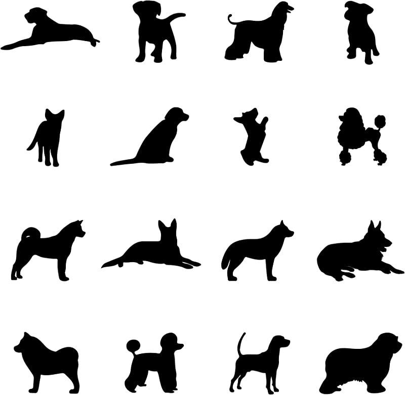 A Room With Dogs Wall Decals Doggie Stickers For Kids Room Bedroom Nursery Playroom Decor