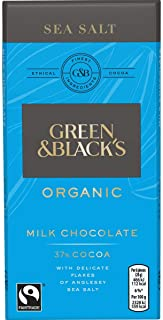 Green & Black's Green & Blacks Sea Salt Milk Chocolate 15X100G