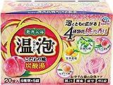 【医薬部外品】温泡(ONPO)入浴剤 炭酸湯 こだわり桃 4種 [4種x5錠 20錠入り]