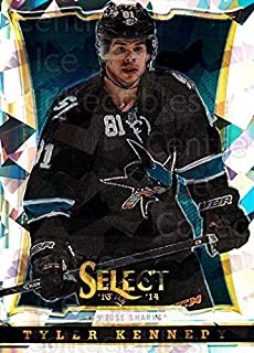 (CI) Tyler Kennedy Hockey Card 2013-14 Select Cracked Ice Toronto Spring Expo 427 Tyler Kennedy
