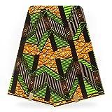 Lace Crafts - Holland Wax Prints Nigerian Ankara Fabric hollandais Wax Printed Cotton African Fabrics Wholesale Real Dutch Wax for Women - (Color: Color 4)